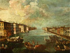 Seattle fine art restoration services. Painting restoration of the ''Venice Canal'' painting, c. 1800, Oil on canvas, 29'' x 43''.